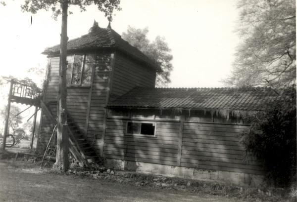 The boat house at Riverbank