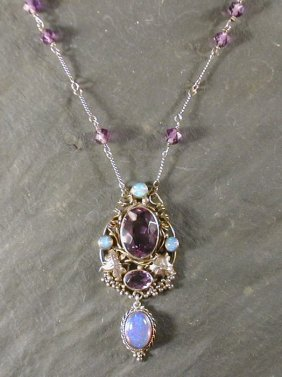 Marriage of pendant with newer chain.